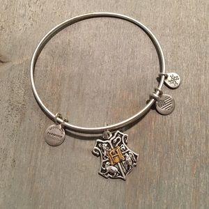 Alex and ani Harry Potter house crest bracelet